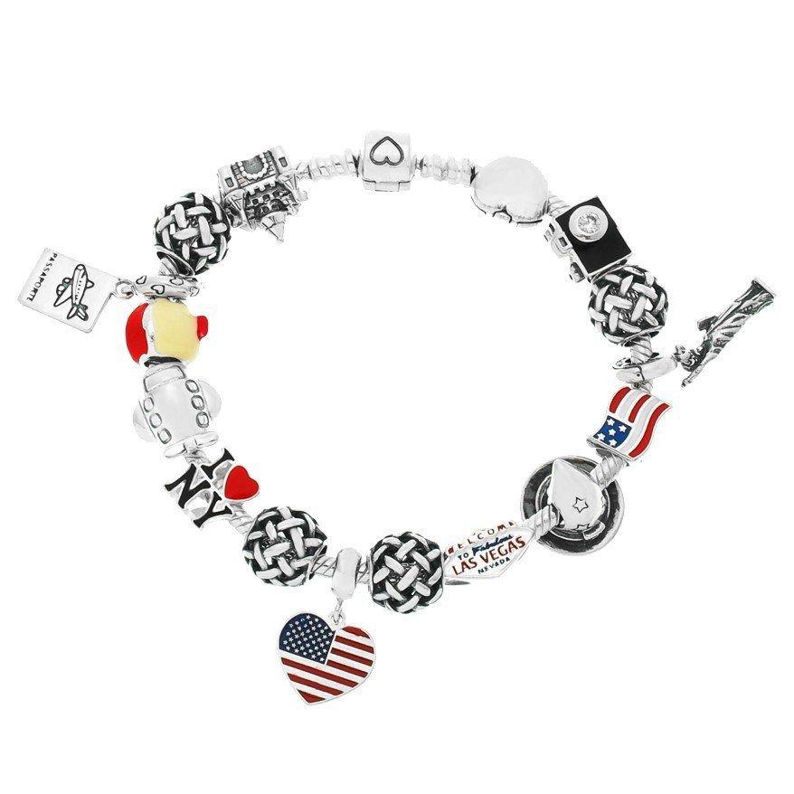 Berloque Coração Estados Unidos