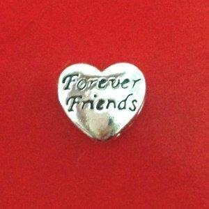Berloque Coração Forever Friends
