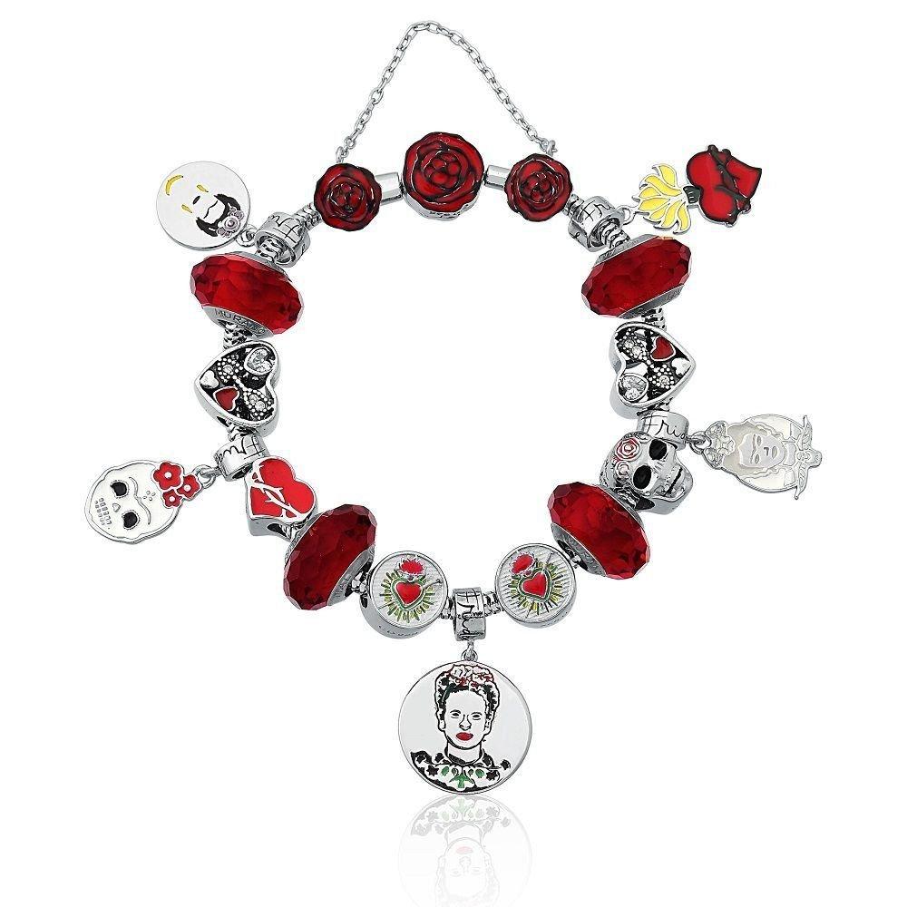 Berloque Coração Frida Kahlo
