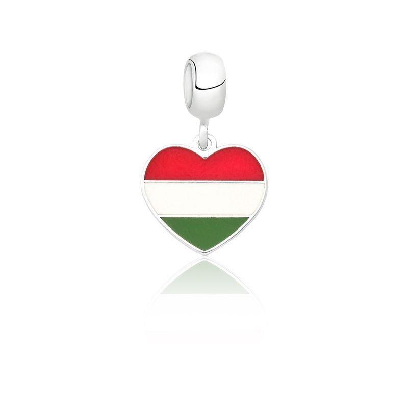Berloque Coração Hungria