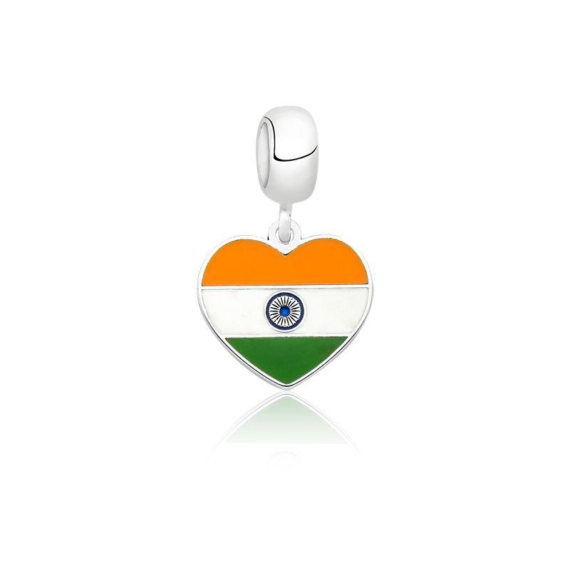 Berloque Coração Índia