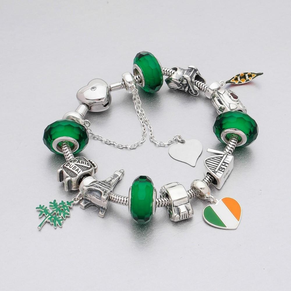 Berloque Coração Irlanda
