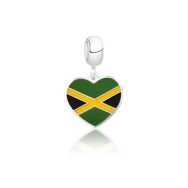 Berloque Coração Jamaica