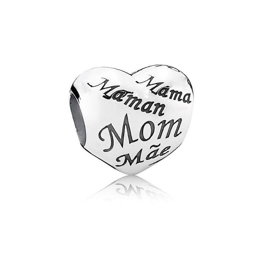 Berloque Coração Mãe II