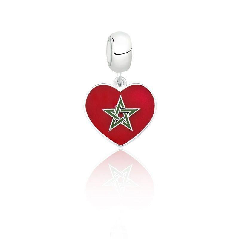 Berloque Coração Marrocos