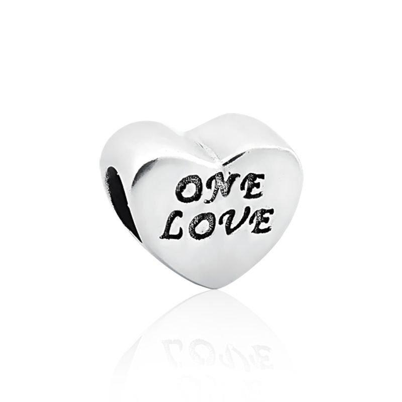 Berloque Coração One Love