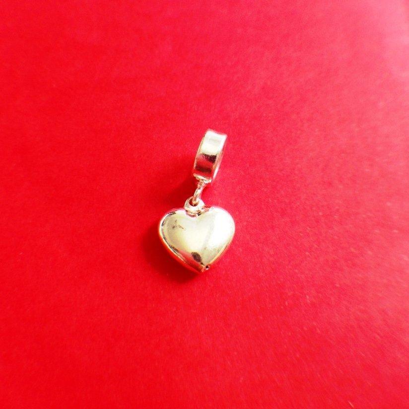 Berloque Coração Prata I