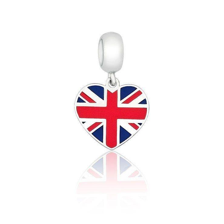Berloque Coração Reino Unido