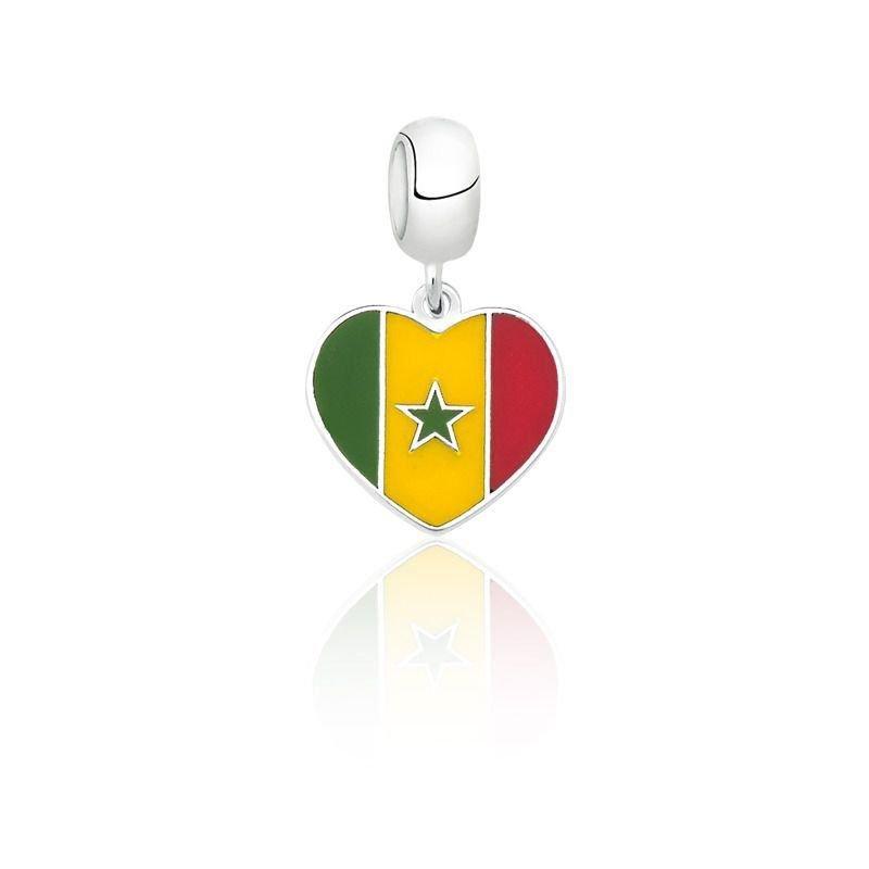 Berloque Coração Senegal