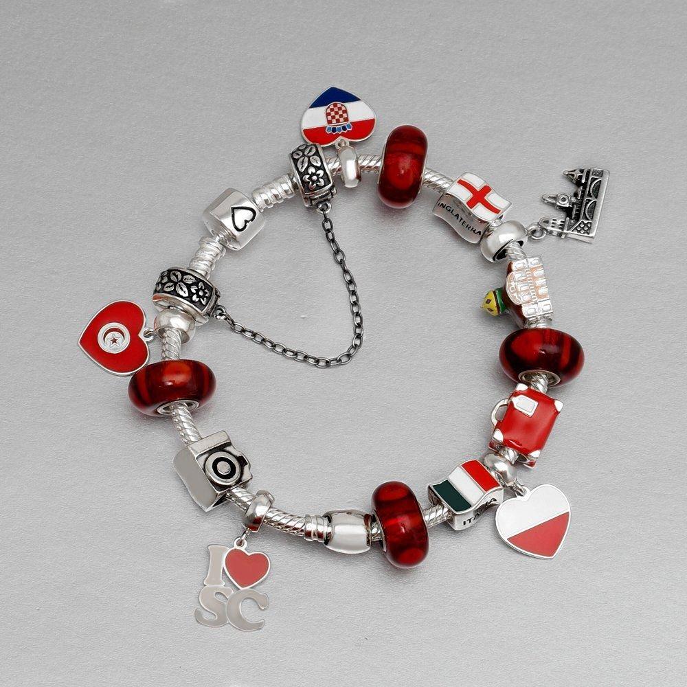 Berloque Coração Tunísia