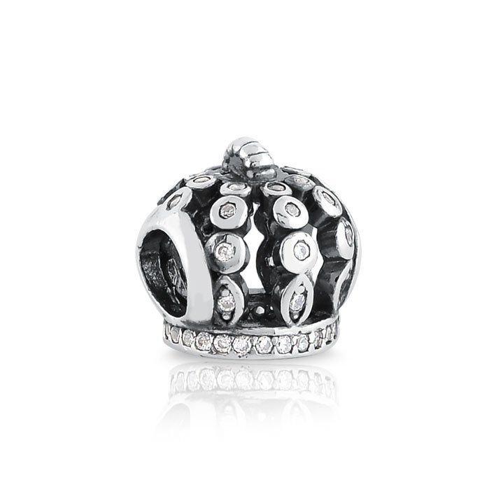 Berloque Coroa de Zircônias