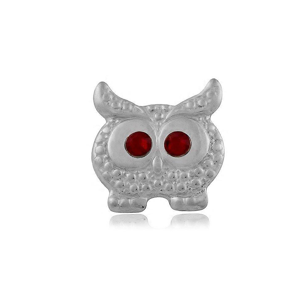 Berloque Coruja Olhos de Pedras II