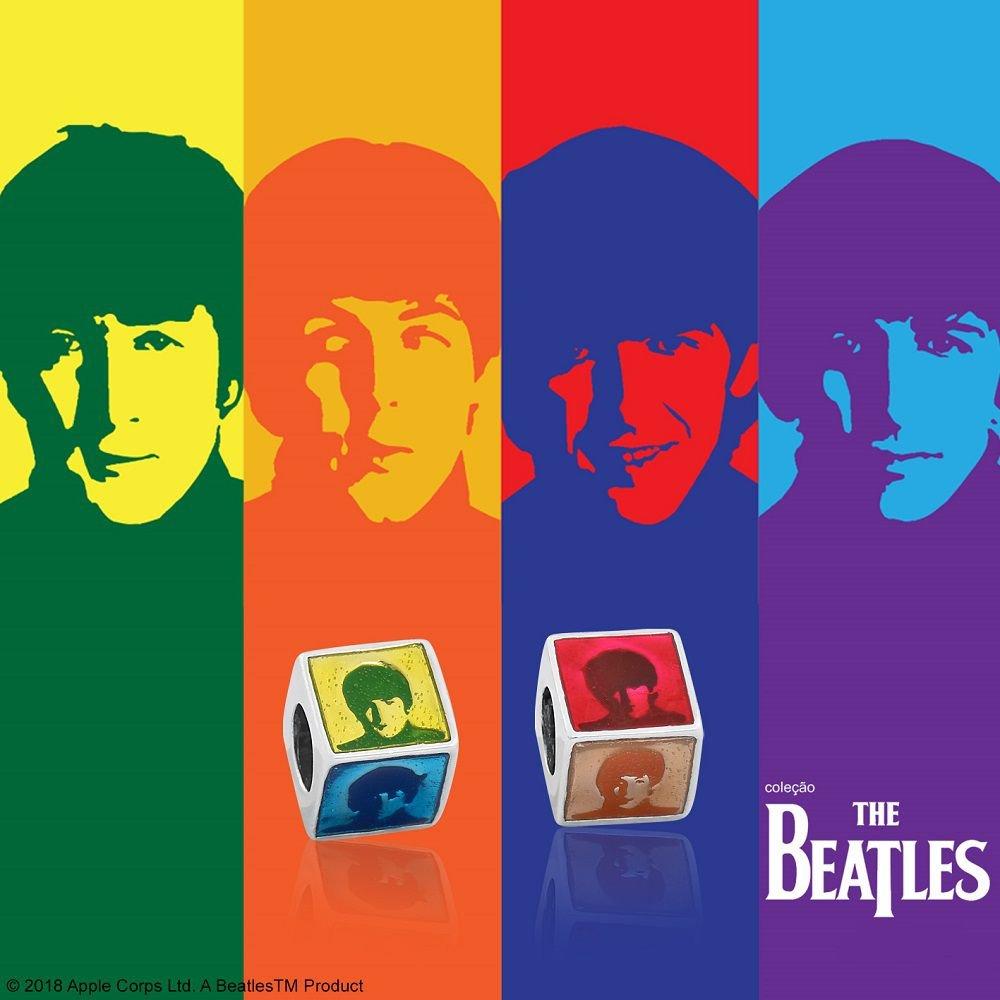 Berloque Cubo Beatles