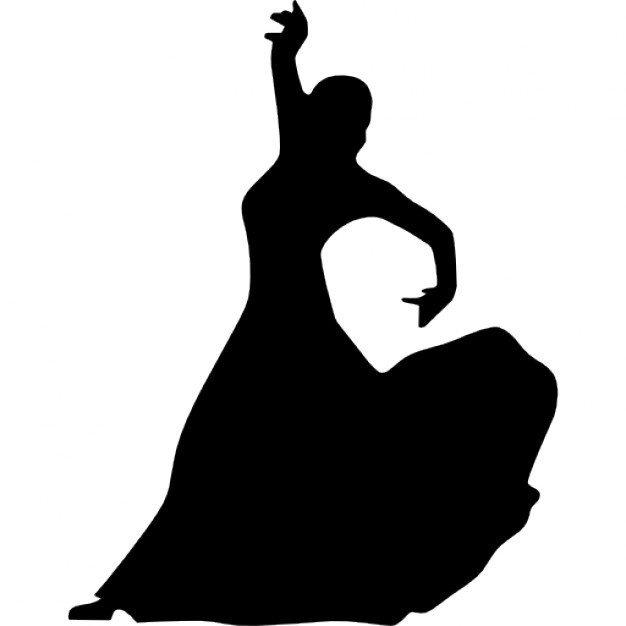 Berloque Dançarina de Flamenco