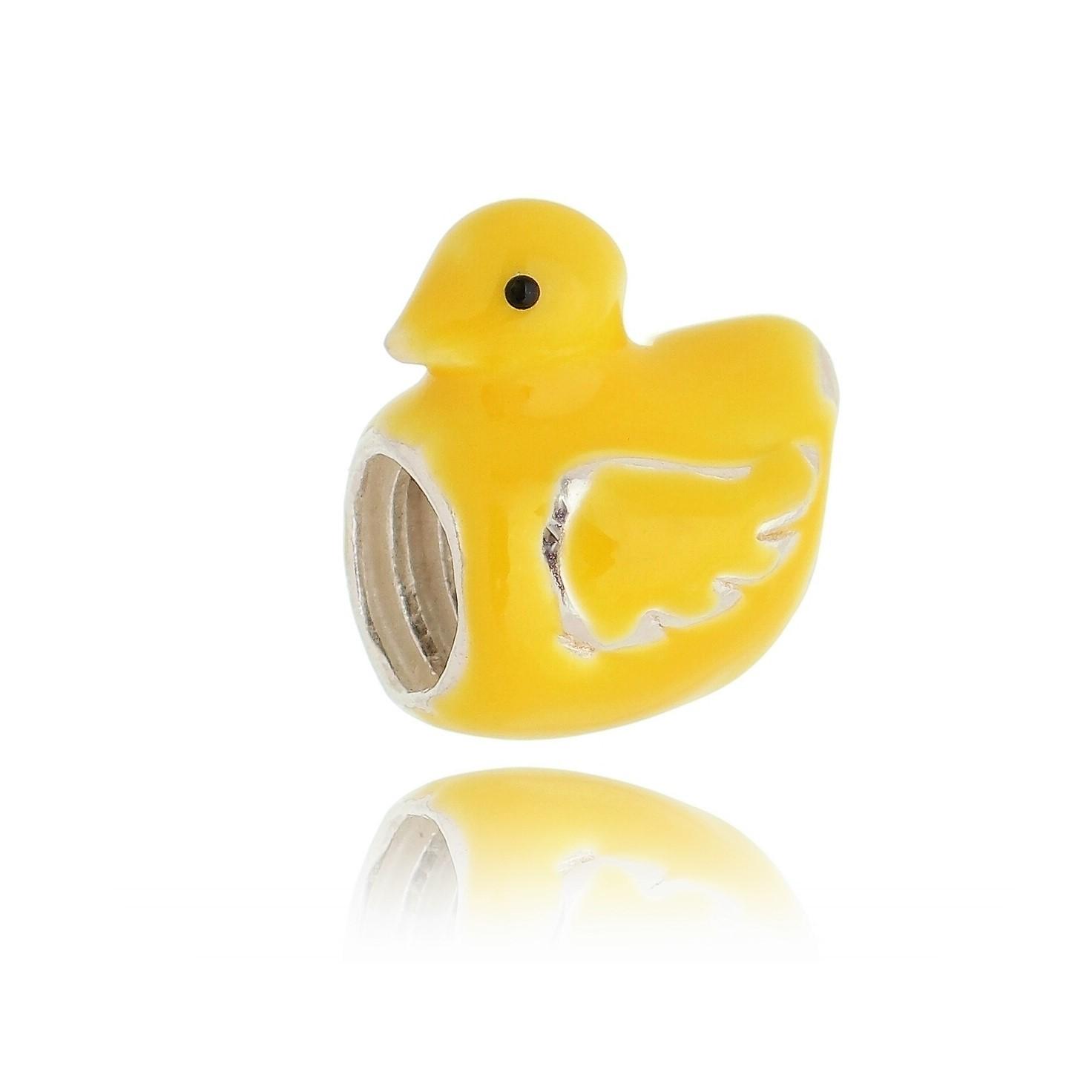 Berloque de Patinho Amarelo