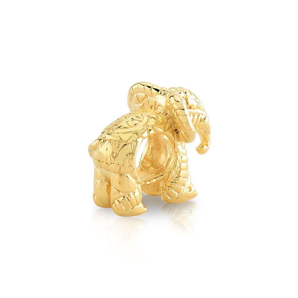 Berloque Elefante África Dourada