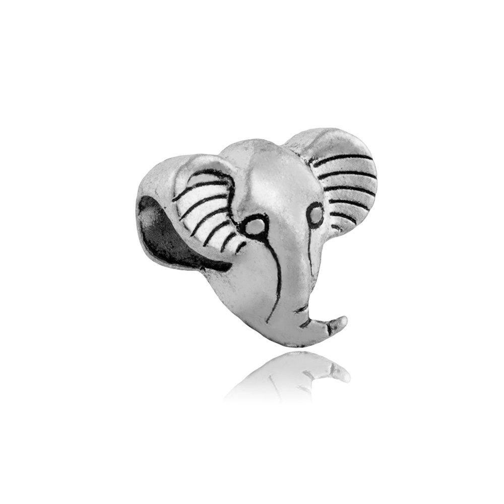 Berloque Elefante Prata