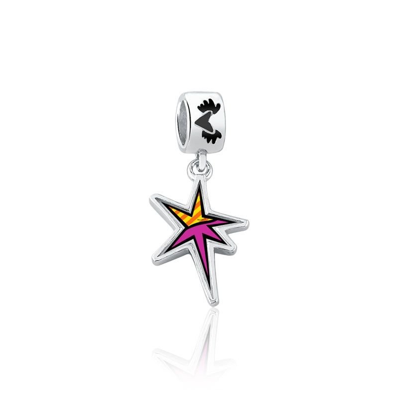 Berloque Estrela Cadente Romero Britto