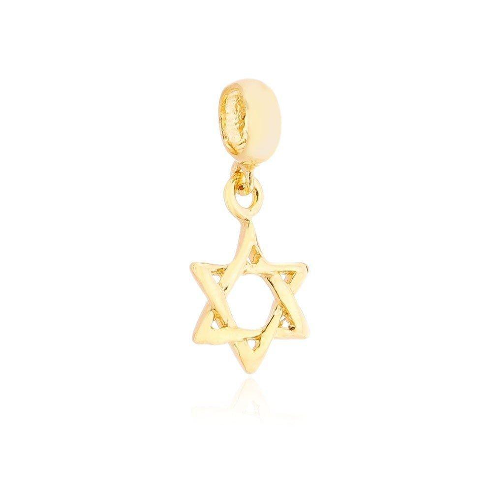 Berloque Estrela de Davi Dourada