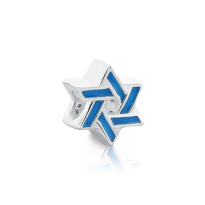 Berloque Estrela de Davi Esmaltada