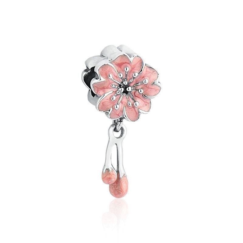 Berloque Flor de Cerejeira