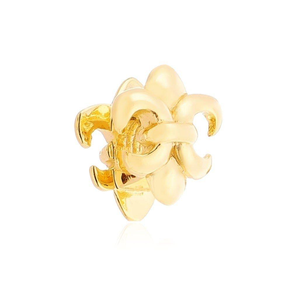 Berloque Flor de Lis Dourada