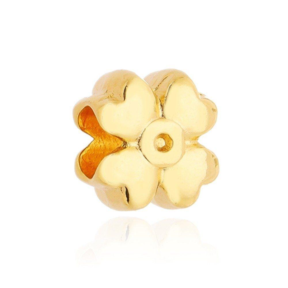 Berloque Flor Dourada