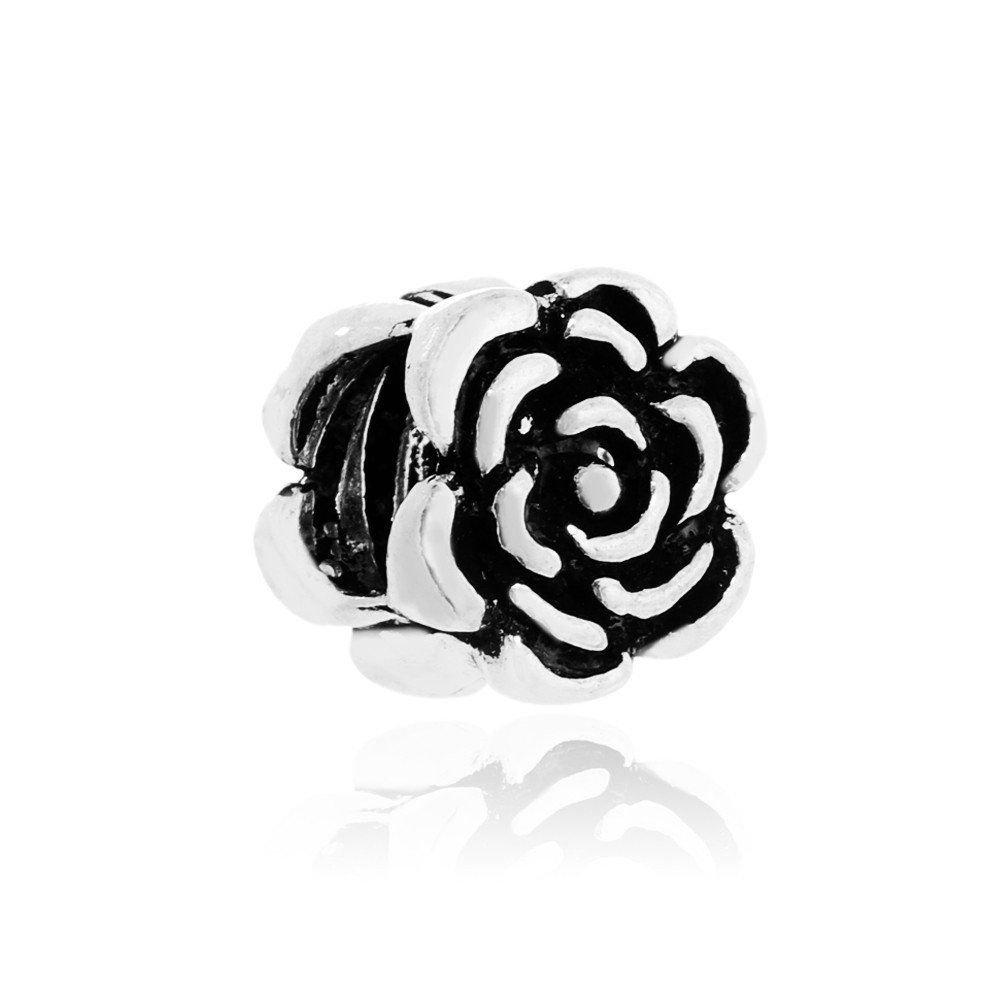 Berloque Florzinha Rosa