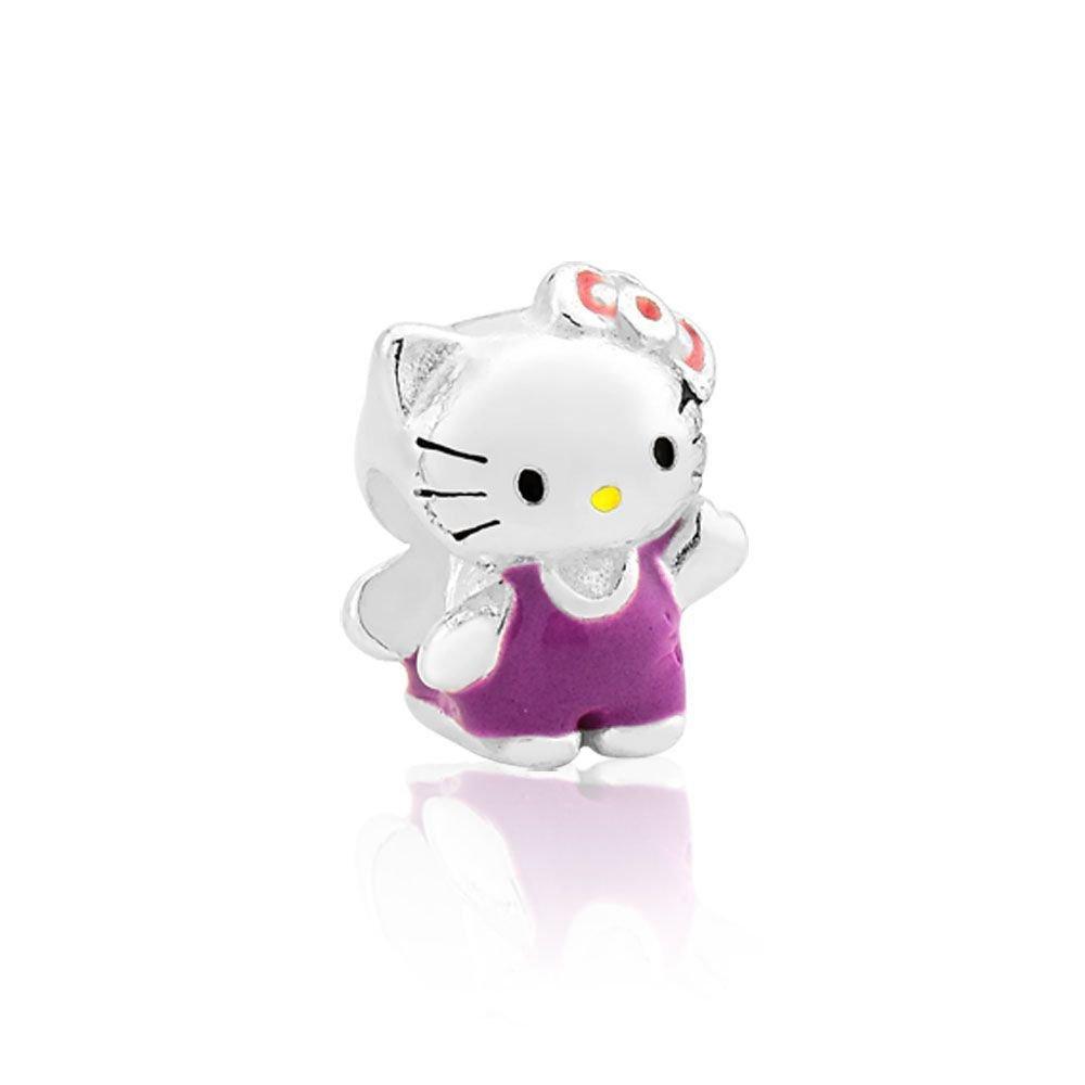 Berloque Gatinha Hello Kitty