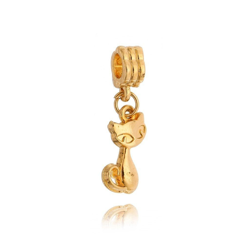 Berloque Gatinho Dourado II