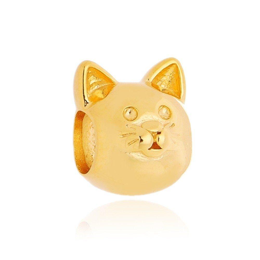 Berloque Gato Dourado
