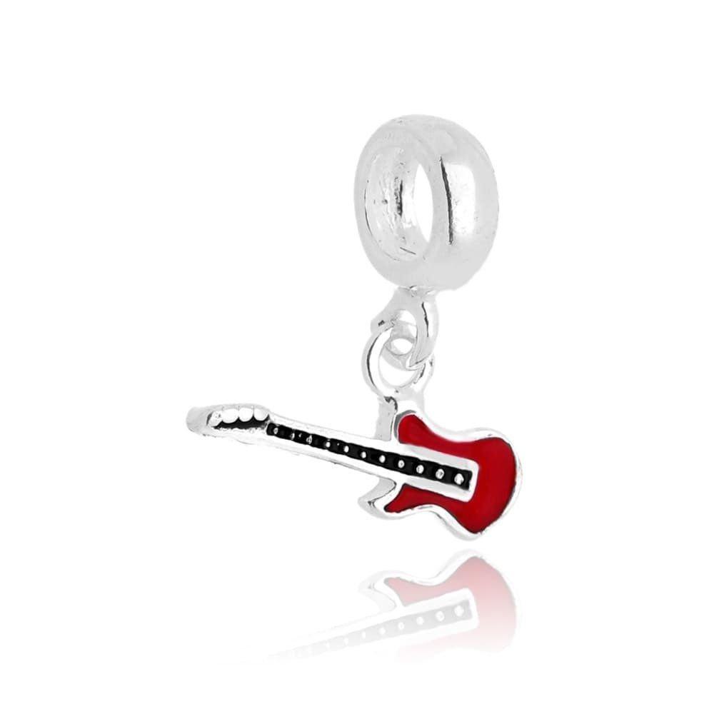 Berloque Guitarra Vermelha