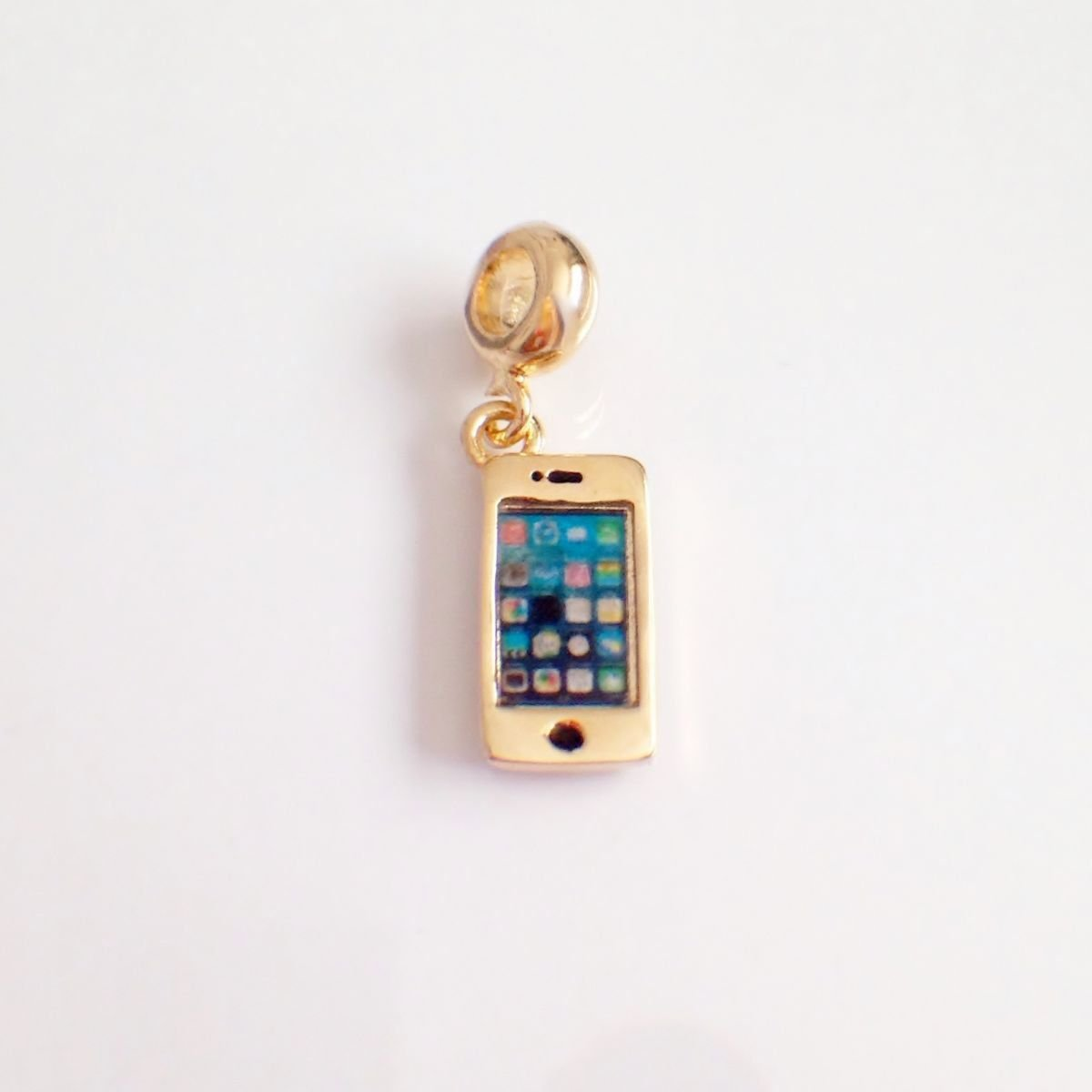 Berloque Iphone Dourado