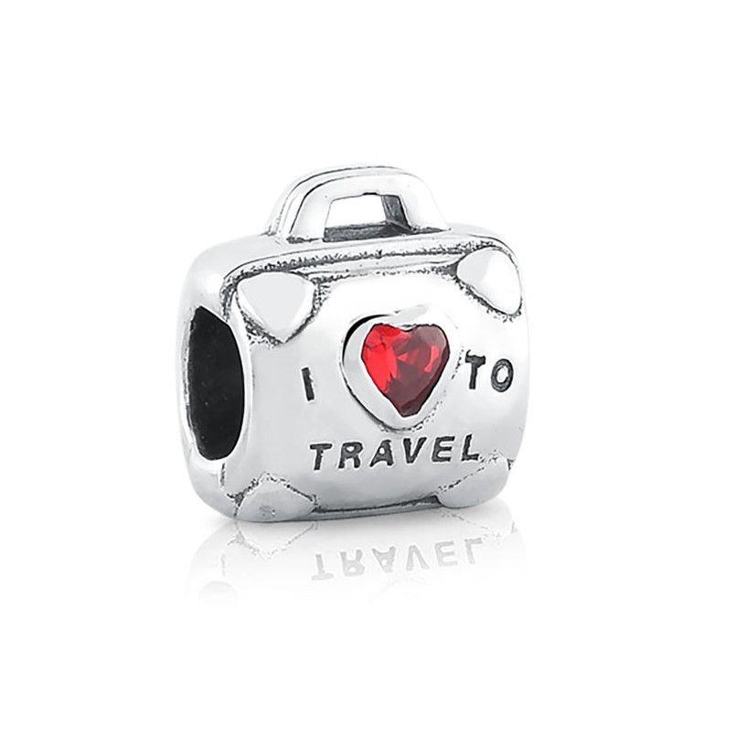 Berloque Mala Eu Amo Viajar