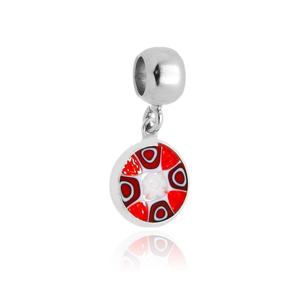Berloque Mandala Vermelha