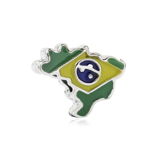 Berloque Mapa do Brasil