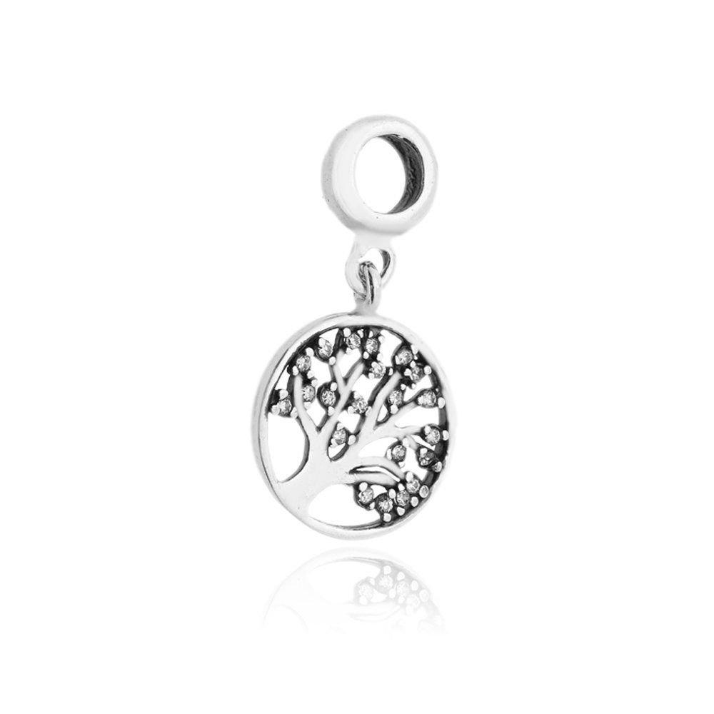 Berloque Medalhinha Árvore Da VIda