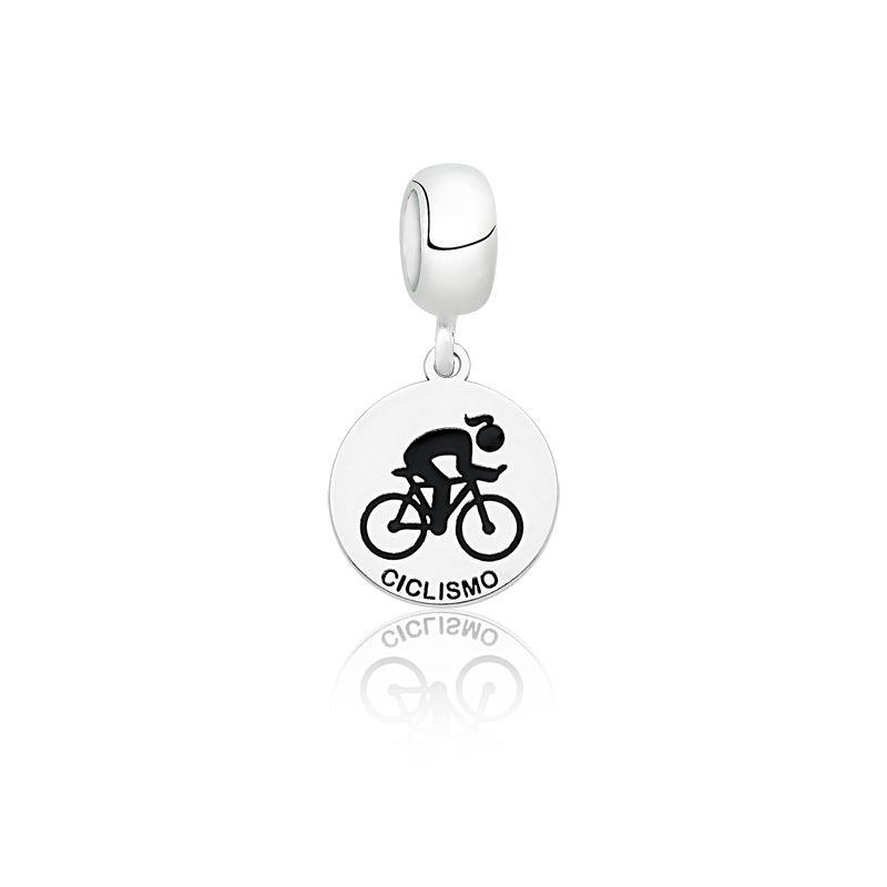 Berloque Medalhinha de Ciclismo