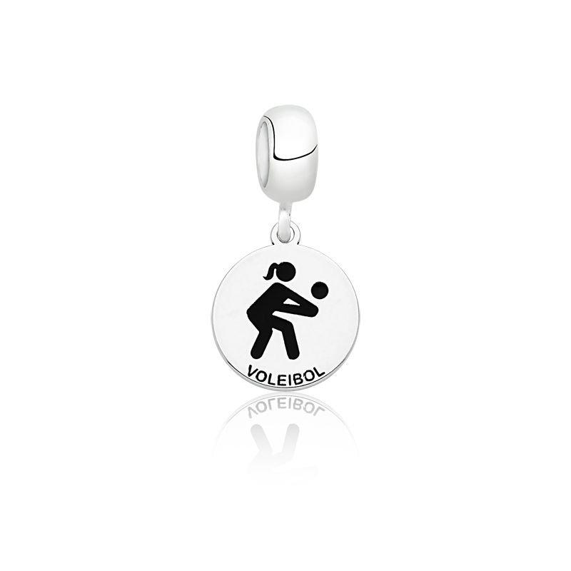 Berloque Medalhinha de Voleibol
