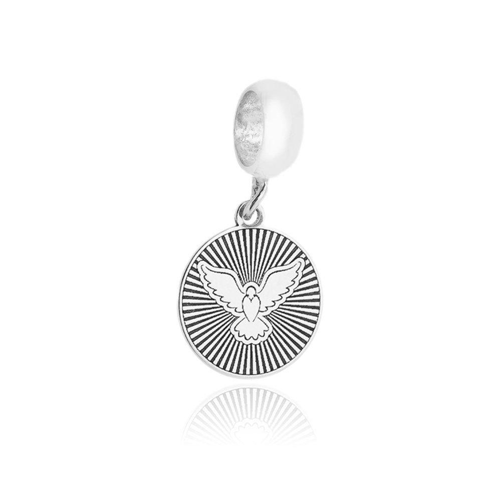 Berloque Medalhinha Divino Espírito Santo