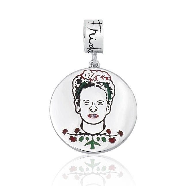 Berloque Medalhinha Frida Kahlo