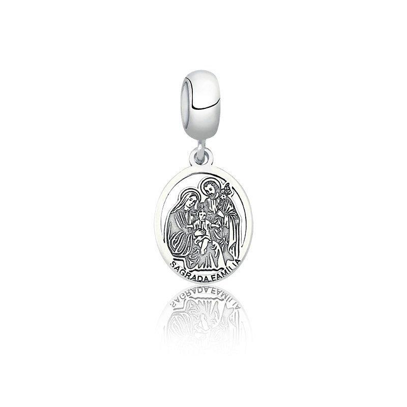 Berloque Medalhinha Sagrada Família