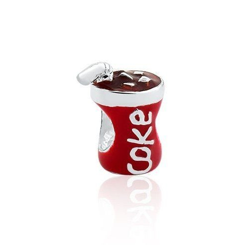Berloque Mini Copo de Coca