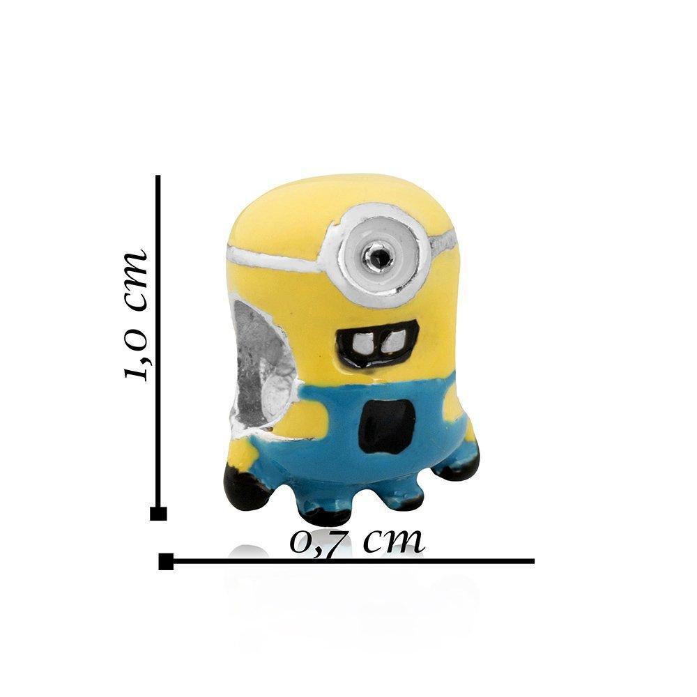 Berloque Minion Esmaltado