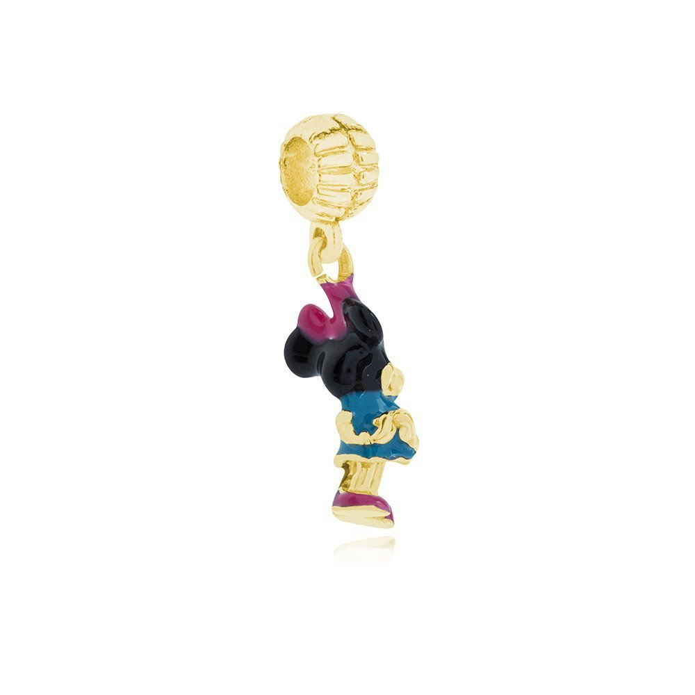 Berloque Minnie Dourada