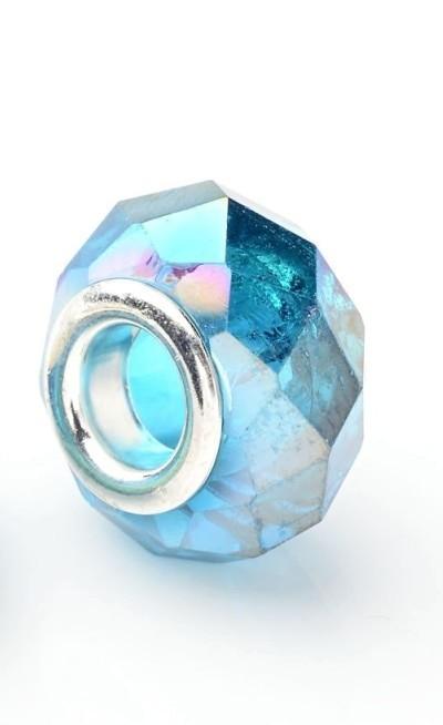 Berloque Murano Azul Furta-Cor