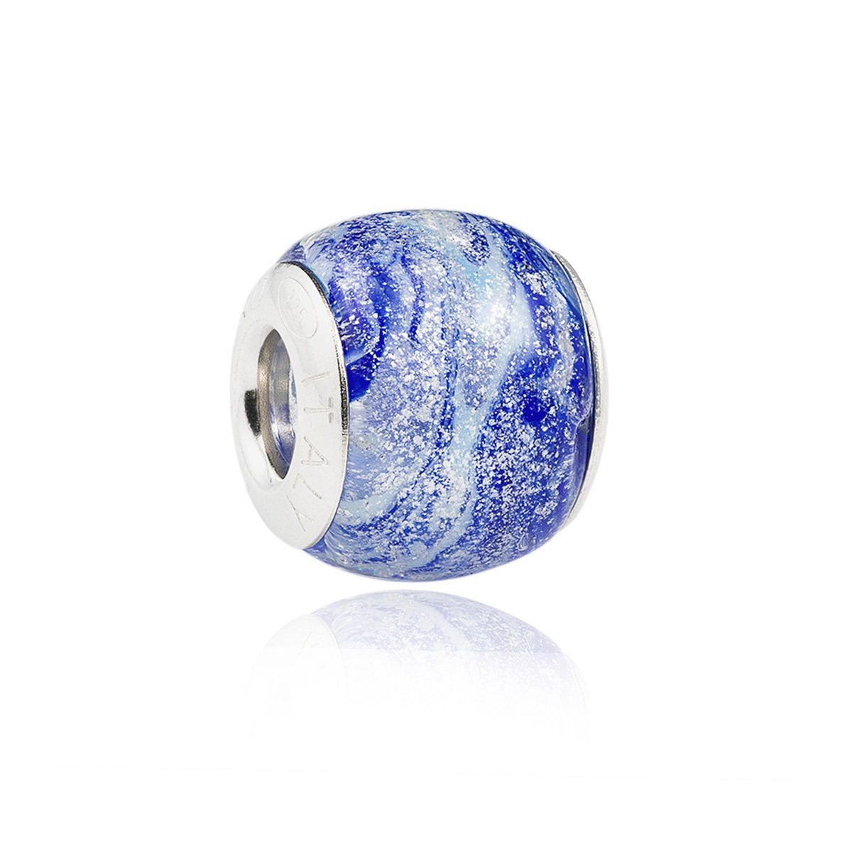 Berloque Murano Azul Mescla
