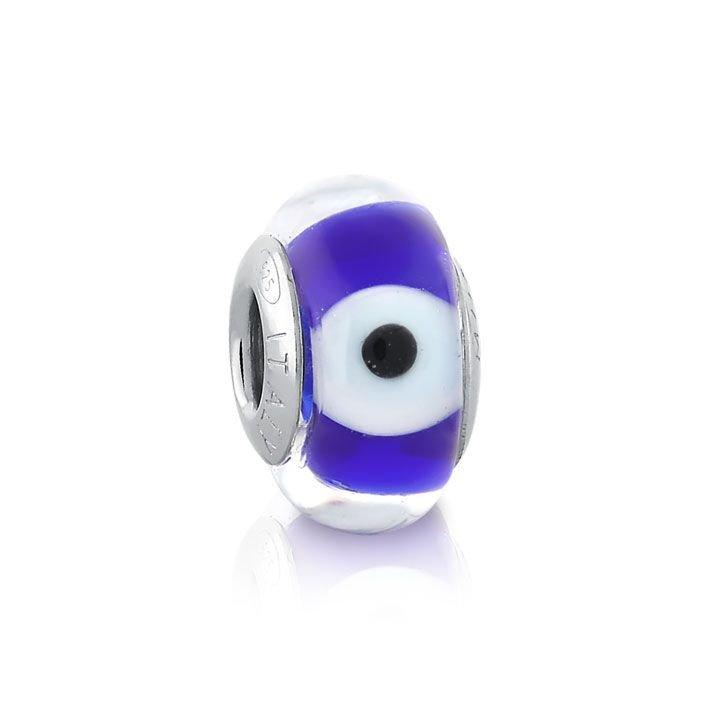 Berloque Murano Olho Grego Azul II