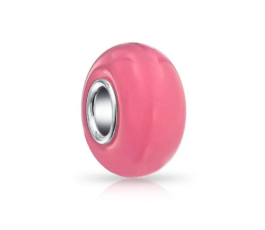 Berloque Murano Rosa Candy