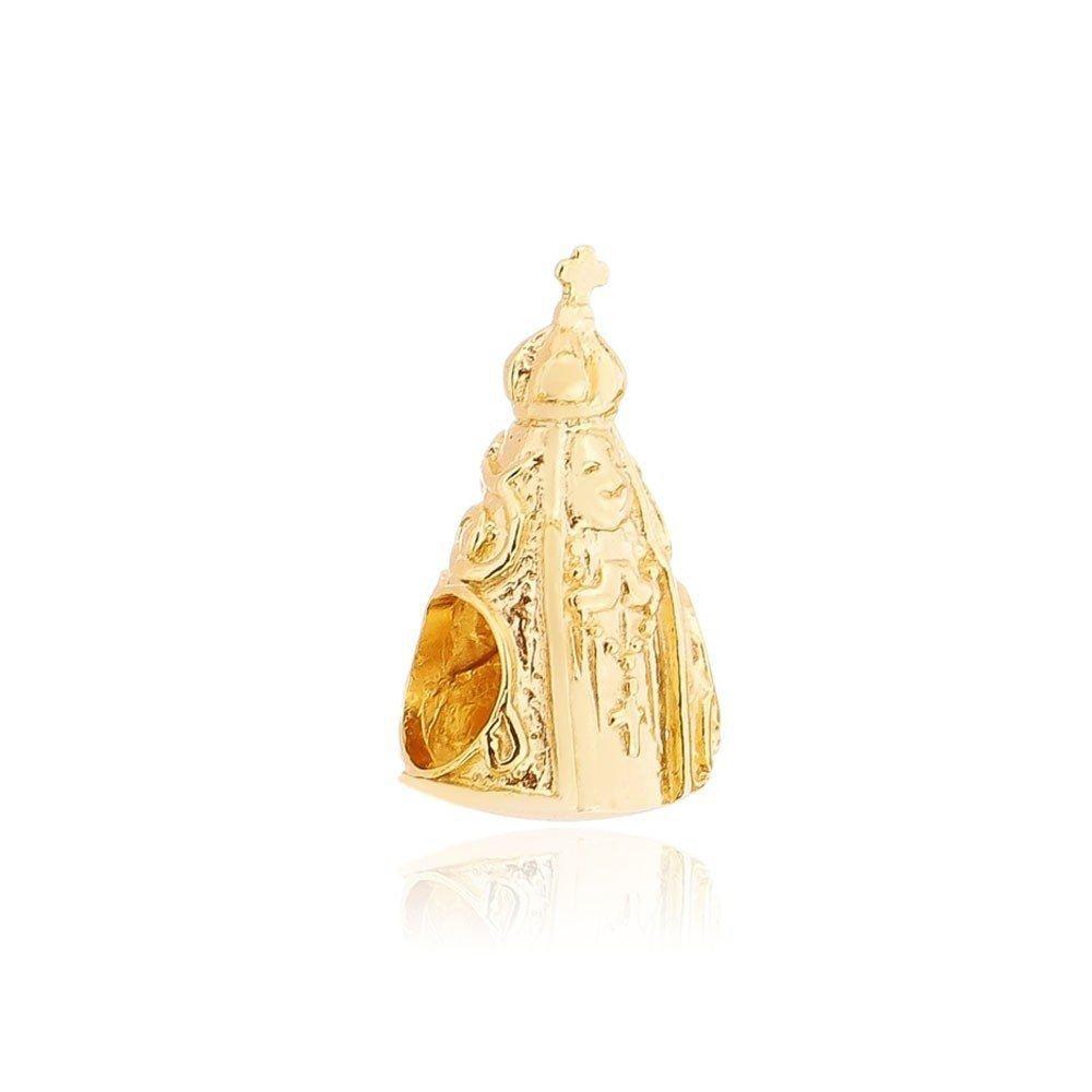 Berloque Nossa Senhora Aparecida Dourada